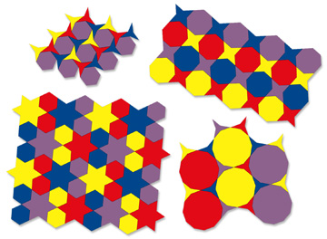 Photo of Tessel-gons & Stars puzzles.